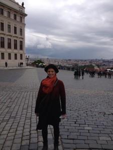 Cassie Prague Castle